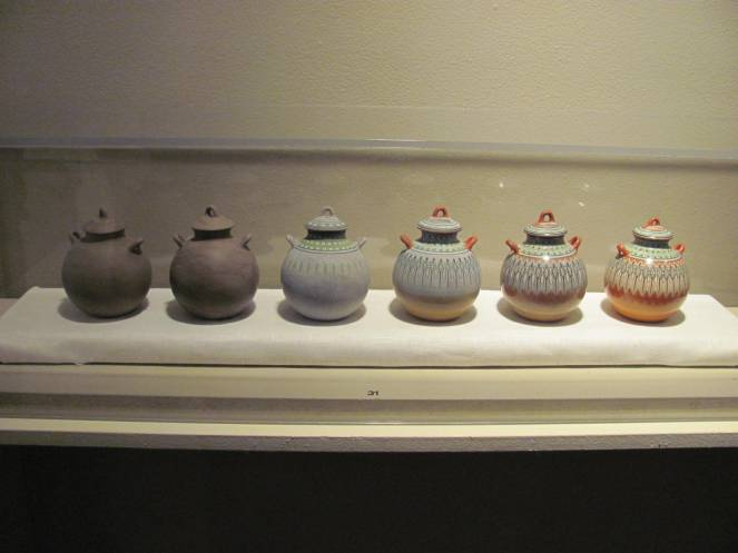 progression of pots